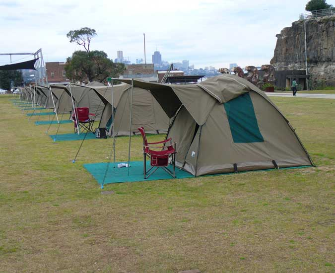 Safari Bow Tents